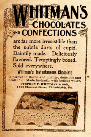 Whitman's candy company